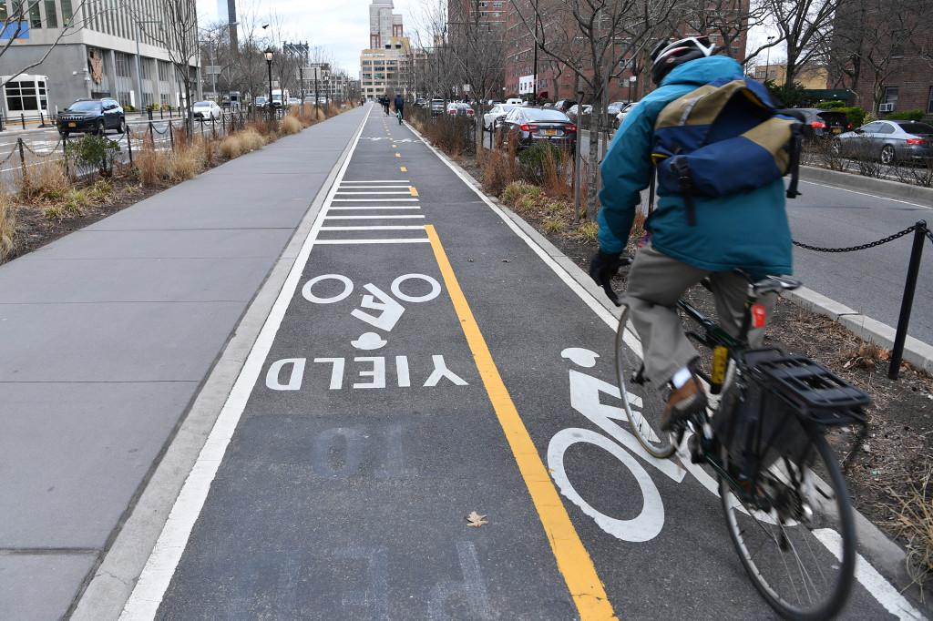 Brooklyn Bicycle Lanes