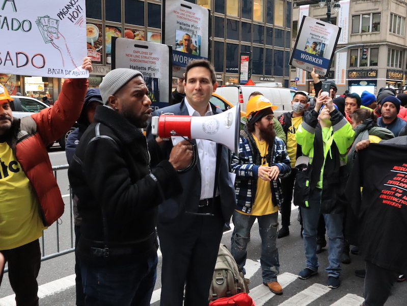 Union & Nonunion Workers United Against 'Open Shop' Abuses