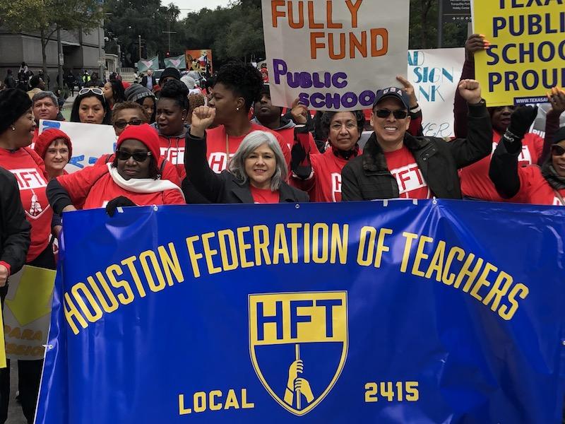 Texas Teachers Union Aims for 'Critical Mass'