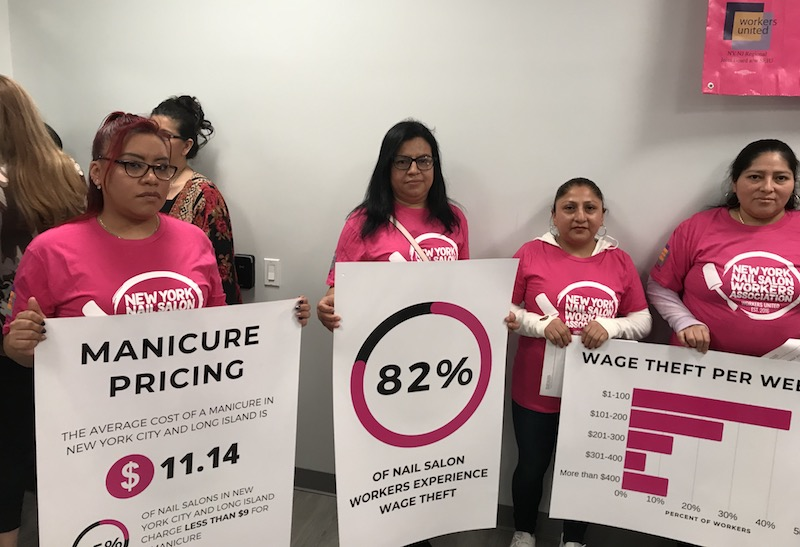 Most NY Nail Salon Workers Are Being Ripped Off, New Report Finds