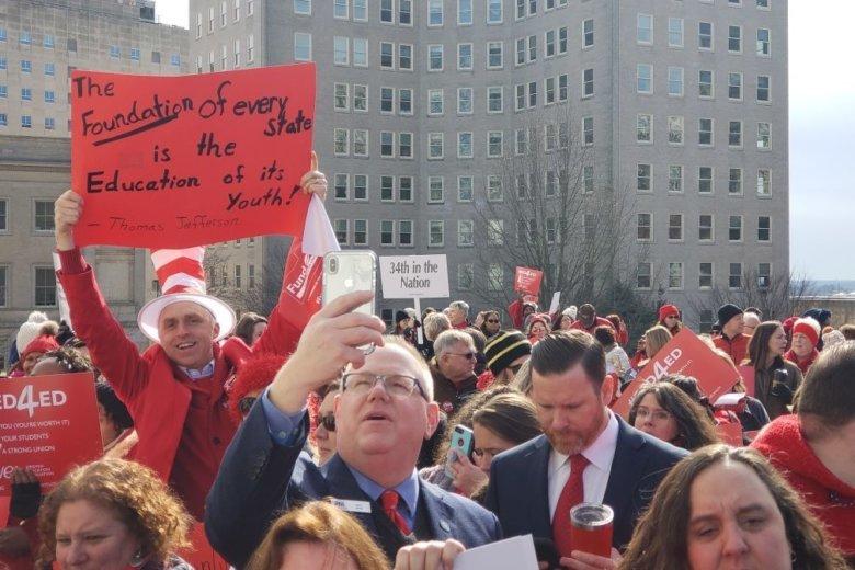 Virginia Teachers Rally for More School Funding