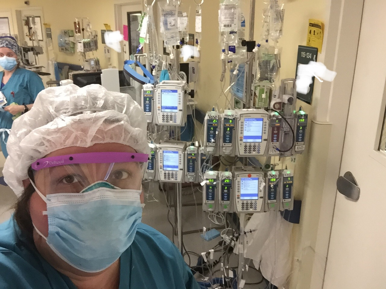 Exhausted ICU Staffers Expect to Be 'Slammed' With New COVID-19 Patients After Lockdown Ends