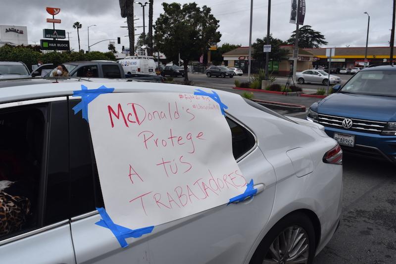 McDonald's, Amazon Workers Strike to Demand Coronavirus Protection