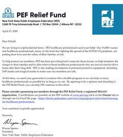 PEF Relief Fund