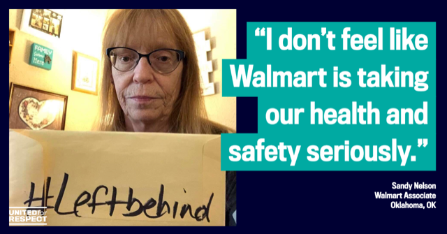 Walmart Workers Help Launch COVID-19 Tracer Site Following Employee Fatalities