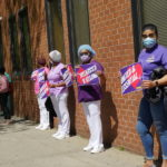 1199SEIU Members Hold Solemn Vigils Outside Devastated NY Nursing Homes
