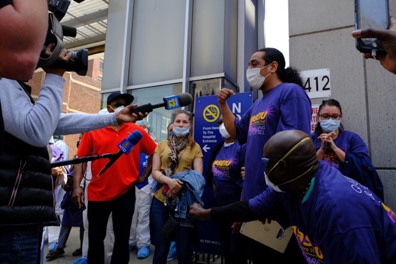 1199SEIU Dental Assistants Forced to Work in COVID-19 Unit Fight Back and Win