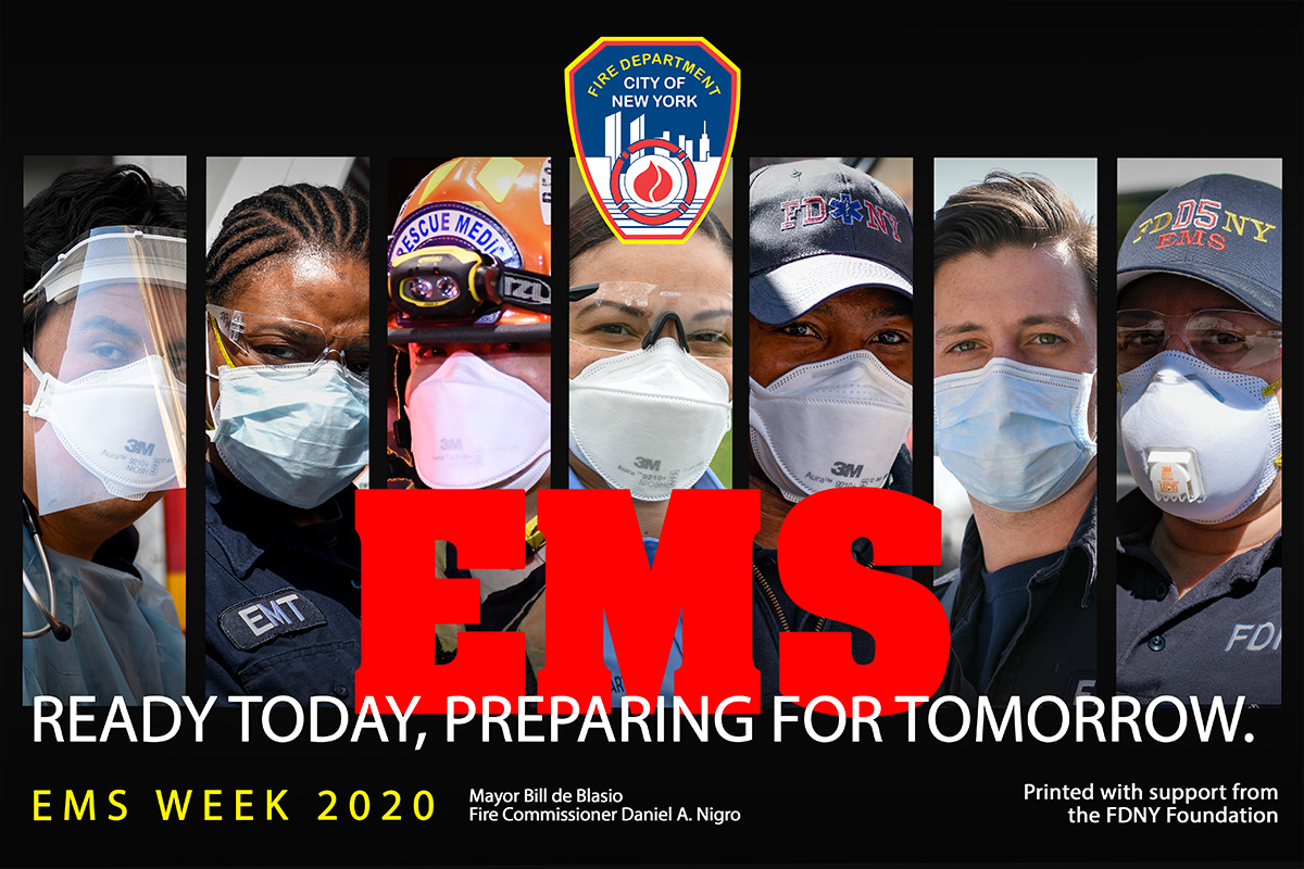A Tall 'EMS Week' Salute to NYC's Lifesavers