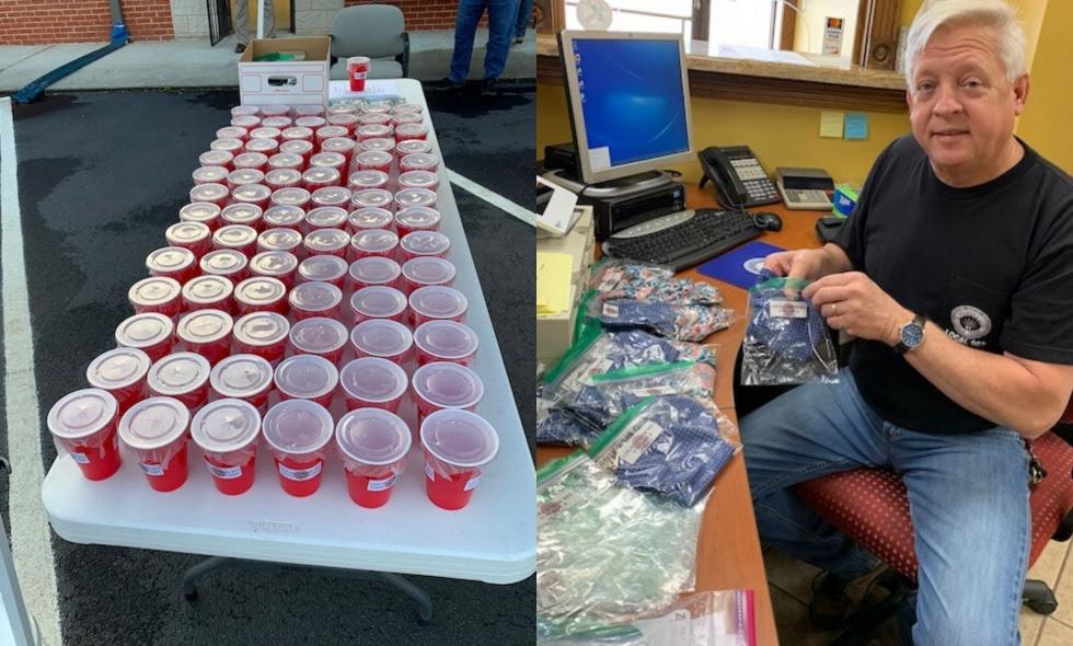 IBEW Union Turns Moonshine into Hand Sanitizer