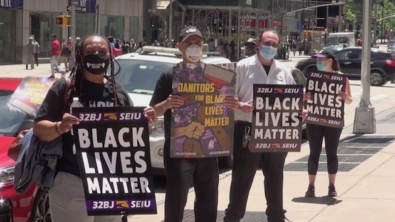Black Lives Matter Movement Adds Sense of Urgency to Justice for Janitors Observance