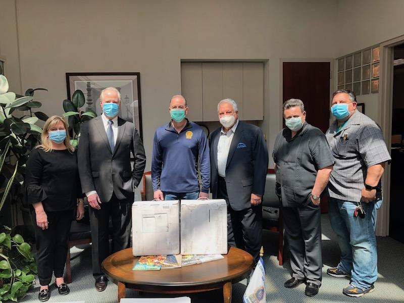 Oxygen Generators Help Detectives Battling COVID-19