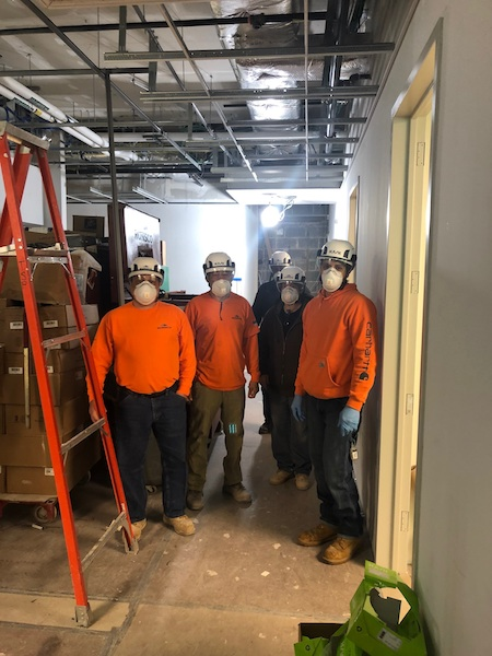 Social Distancing Challenges NYC Carpenters Trying to Work Safe During COVID-19 Crisis
