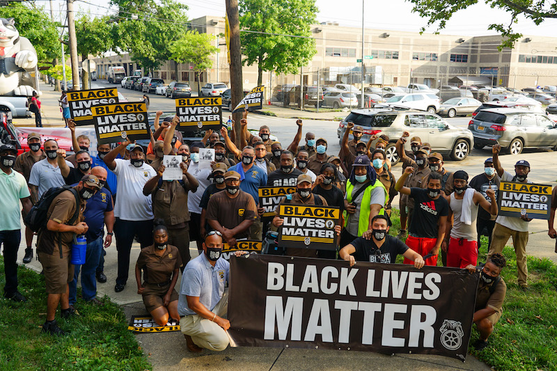 Labor Joins Black Lives Matter in Coast to Coast Action Against Systemic Racism, Police Brutality and Economic Inequality
