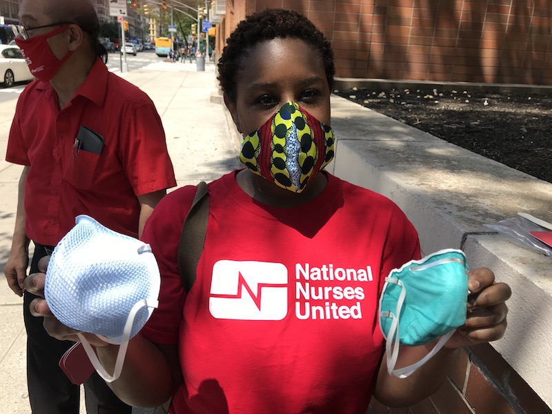 Nurses in New York Join Nationwide Call for Proper Protections against COVID-19