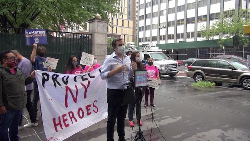 Bosses Failing to Protect NY Workers From COVID-19 Could Face New Fines