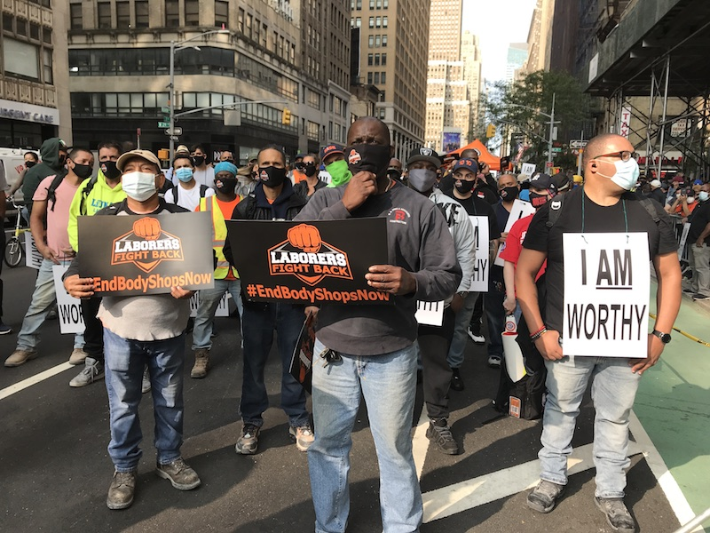 'Modern Day Slavery' Inside NYC's Construction Industry