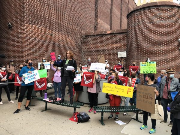 Hunter College Educators, Parents Demand COVID Testing, Ventilation Inspections and Contact Tracing