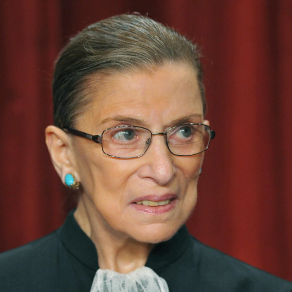 Supreme Court Justice Ruth Bader Ginsburg an Icon